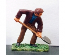 Workman With A Shovel - Unpainted Figure