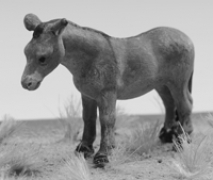 Mule Unpainted